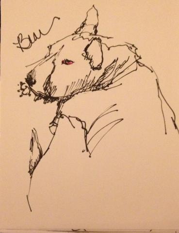 Bear Ink 4x5 $75