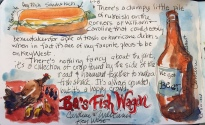 BO's Fish Wagon Journal Page 6x8 Prints will be available soon