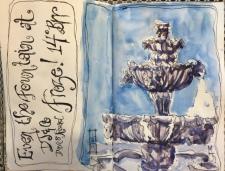 The Frozen Fountain