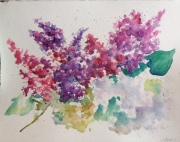 Spring Watercolor $200 12x15