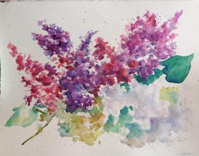Spring Watercolor $200 12x15