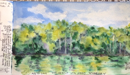 Out My Back Door Watercolor Prints will be available soon