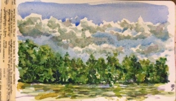Out My Back Door3 Watercolor Prints will be available soon