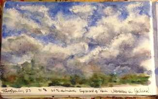Out My Back Door4 Watercolor Prints will be available soon