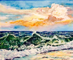 15x20 Watercolor $400