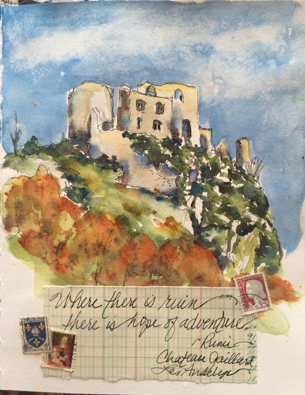 Chateau Gaillard – Margaret McCarthy Hunt Art