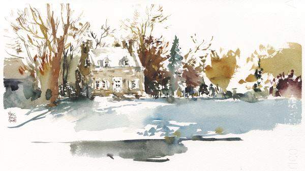 16dec13_winter_sketching_watercolor_montreal_notre-dame-des-neiges-cemetery_caretaker